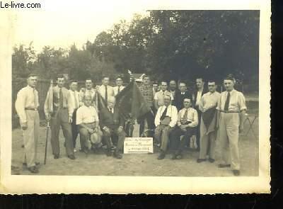 Photographie Originale. Souvenir du Championnat de France de Boules, 1934 - Boule