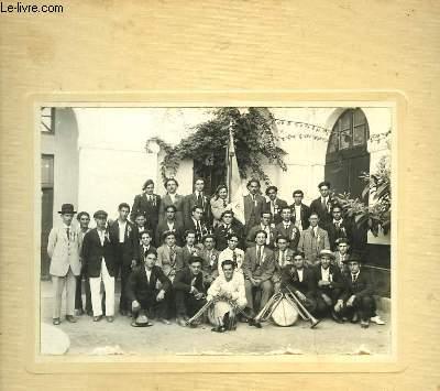 Photographie Originale d'une fanfare algérienne.
