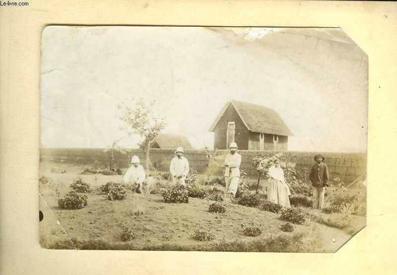 Photographie Originale Ancienne. Promenade dans l'Oued-Deh près Saint-Charles (Algérie) le 9 mai 1894