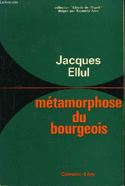 Métamorphose du bourgeois