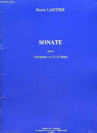 Sonate pour Trompette en Ut et Piano.