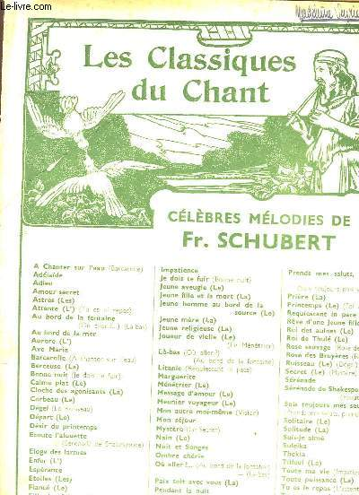 La Truite. Chant et Piano
