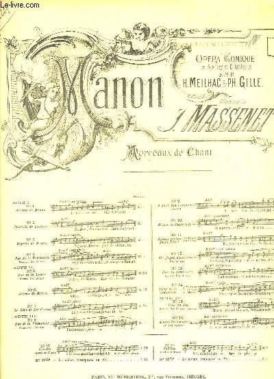 Manon N°10 : Manon au Cours-La-Reine