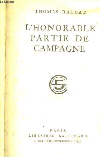 L'Honorable Partie de Campagne.