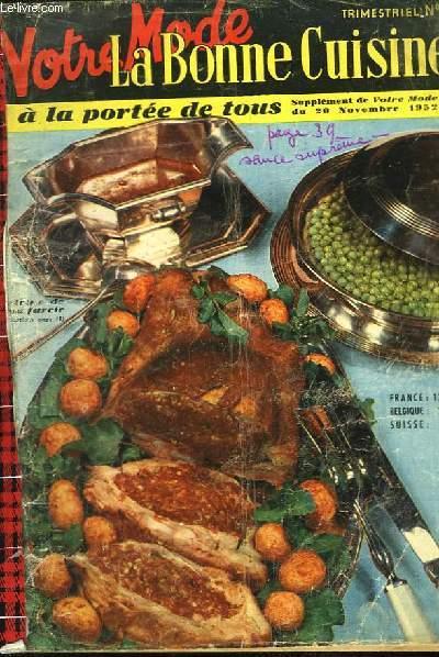 Votre Mode - La Bonne Cuisine à la Portée de Tous. N°2 : Génois glacé aux noix.