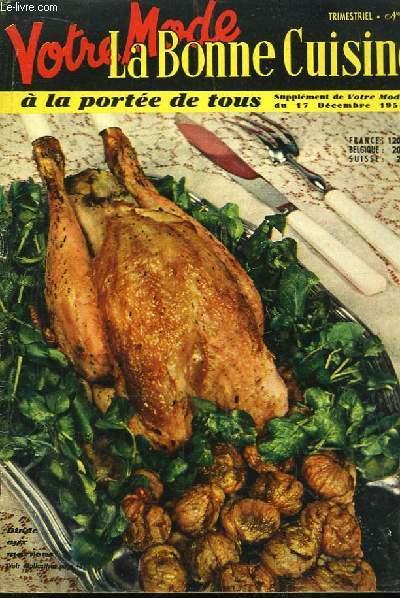 Votre Mode - La Bonne Cuisine à la Portée de Tous. N°6 : Dinde aux Marrons.