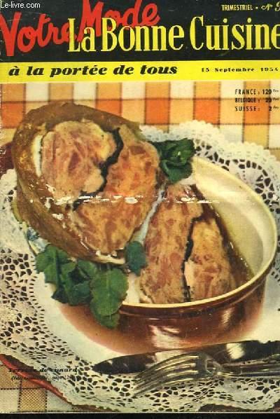 Votre Mode - La Bonne Cuisine à la Portée de Tous. N°9 : Terrine de canard. Curré de Porc