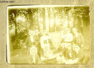 Une photographie originale ancienne albuminée :