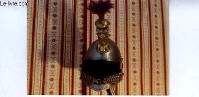 Une photographie originale, en couleurs d'un Casque de Cuirassier de la Ligue, Epoque Louis-Philippe.