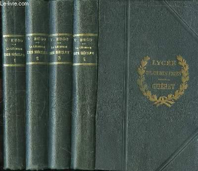La Légende des Siècles. En 4 volumes.