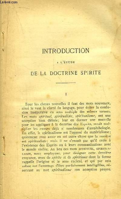 Le Livre des Esprits.