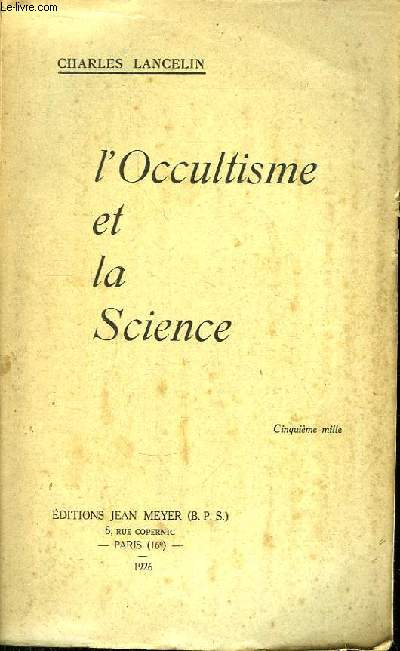 L'Occultisme et la Science.