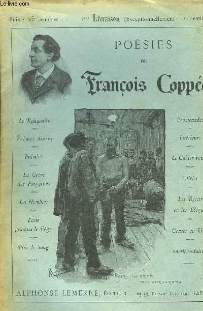 Poésies de François Coppée. En 112 livraisons (Manque la livraison 66)