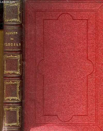 Fables de Florian, illustrée par J.J. Granville suivies de Tobie et de Ruth, poèmes tirés de l'Ecriture Sainte.