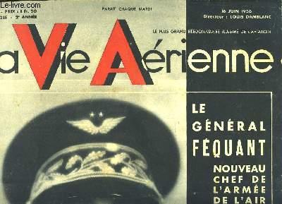 La Vie Aérienne. N°37 - 2ème année : Me Général Féquant - Un avion léger