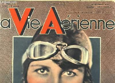 La Vie Aérienne. N°64 - 2ème année : Maryse Bastié,