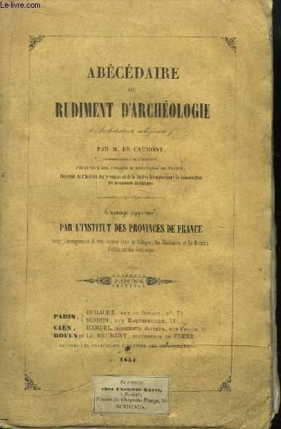 Abécédaire ou Rudiment d'Archéologie (Architecture religieuse)