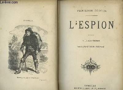 L'Espion. Nouvelle édition. Traduction revue.