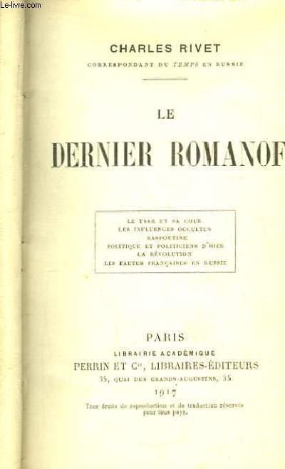 Le Dernier Romanof.