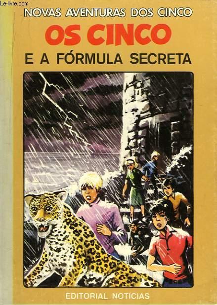 Os Cinco e a Formula Secreta.