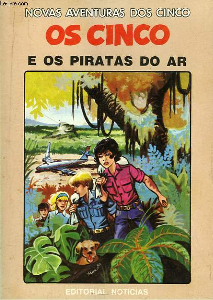 Os Cinco e os Piratas Do Ar.