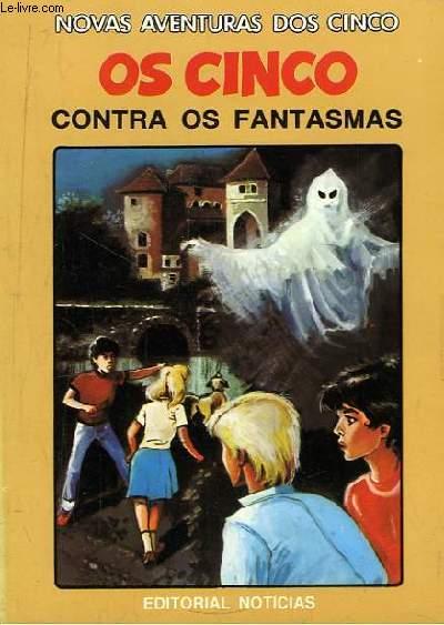 Os Cinco Contra os Fantasmas.