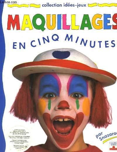 Maquillages en cinq minutes.