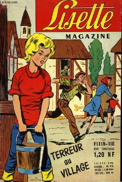 Lisette Magazine N°XIX : Terreur au Village.