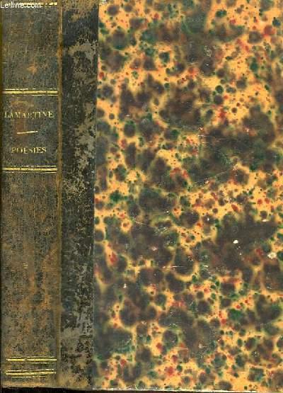 Oeuvres de M.A. Lamartine. Harmonies poétiques et religieuses avec commentaires. Tome 2nd.