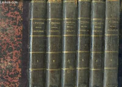 Oeuvres Complètes de Casimir Delavigne. En 6 volumes.