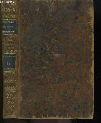 Oeuvres Complètes de Mme Riccoboni. TOME 6 : La Fausse Délicatesse - La Femme Jalouse - Les Caquets -