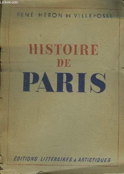 Histoire de Paris.