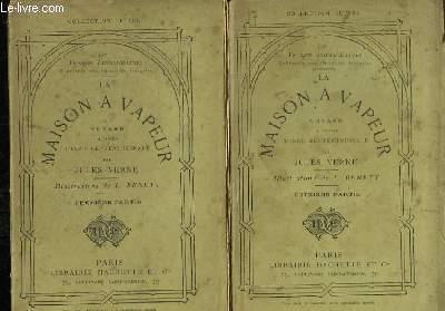La Maison à Vapeur. Voyage à travers l'Inde Septentrionale. En 2 volumes.