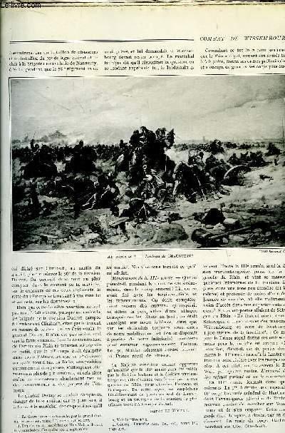 Histoire Générale de la Guerre Franco-Allemande (1870 - 1871). Fascicule n°5 : Combat de Wissembourg - Bataille de Froeschwiller