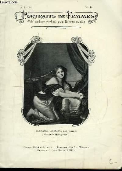 Portraits de Femmes N°14 : Madame Greuze