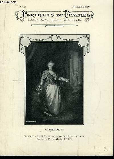 Portraits de Femmes N°18 : Catherine II