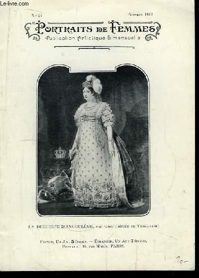 Portraits de Femmes N°24 : La Duchesse d'Angoulème.