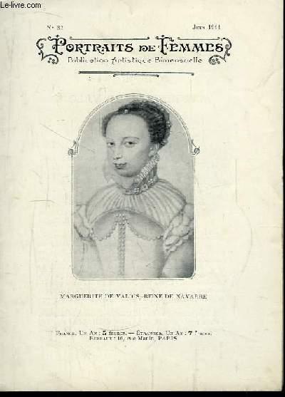 Portraits de Femmes N°32 : Marguerite de Valois, Reine de Navarre.
