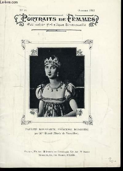Portraits de Femmes N°36 : Pauline Bonaparte, Princesse Borghèse
