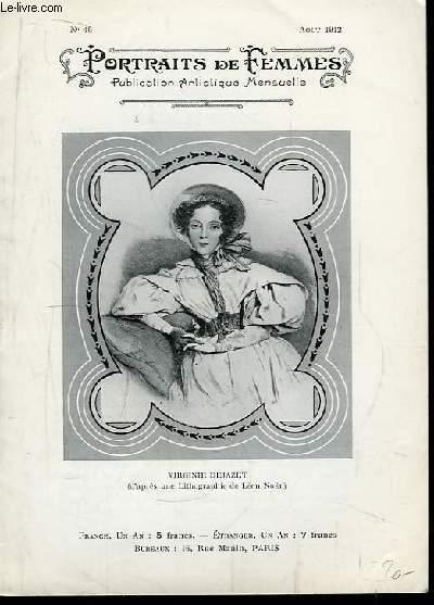 Portraits de Femmes N°46 : Virginie Déjazet.