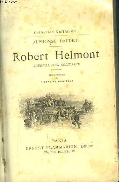 Robert Helmont. Journal d'un Solitaire.