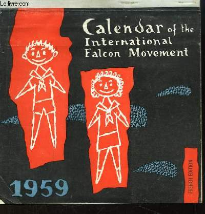 Calendar of the International Falcon Movement. 1959