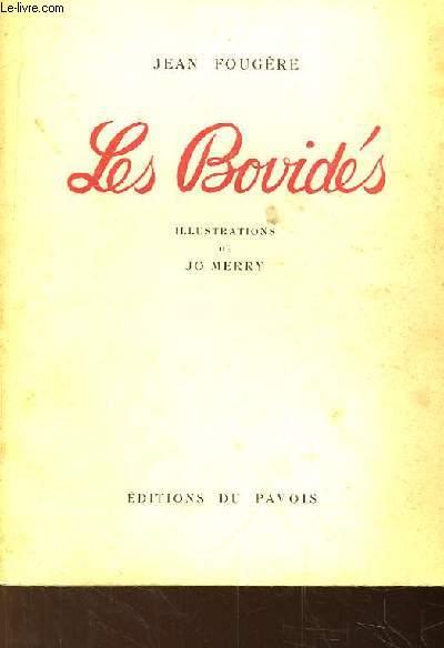 Les Bovidés. Illustré par Jo Merry.