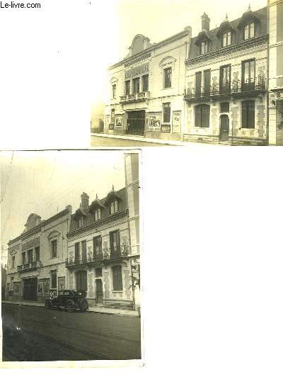 Lot de 2 Photographies originales de l'Olympia de Tarbes.