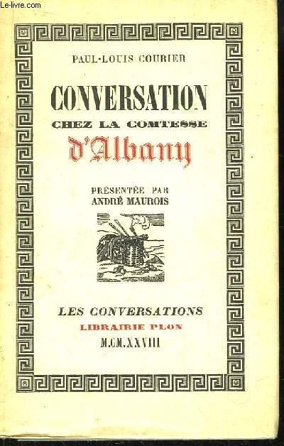 Conversation chez la comtesse d'Albany.
