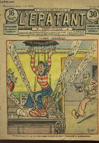 L'Epatant N°1372 - 27ème année : Guide Verdâtre