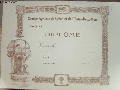 Diplôme (vierge)