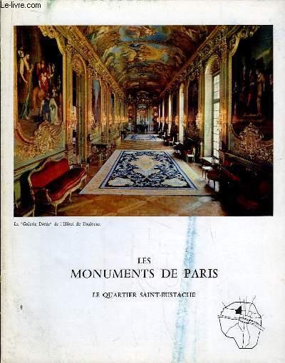 Les Monuments de Paris N°9 : Le Quartier Saint-Eustache.