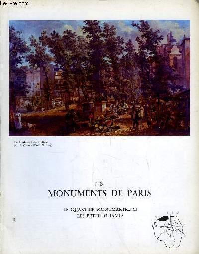 Les Monuments de Paris N°10 : Le Quartier Montmartre, 1e partie, les Petits Champs.