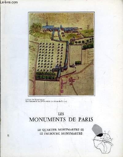 Les Monuments de Paris N°11 : Le Quartier Montmartre, 2e partie, Le Faubourg Montmartre.